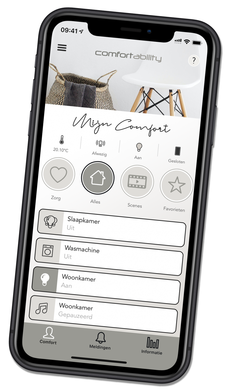 Comfortability app